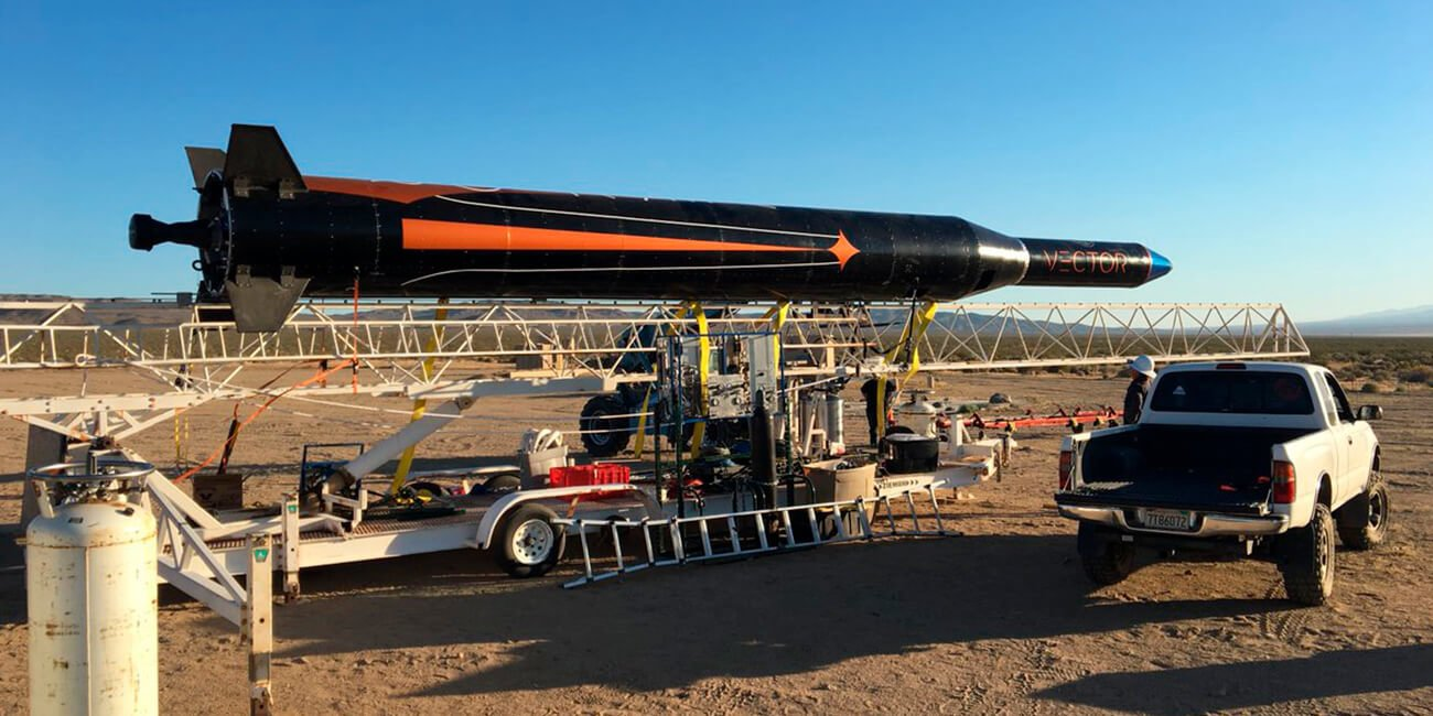 Стартап Vector запустил микроракету с грузом на борту