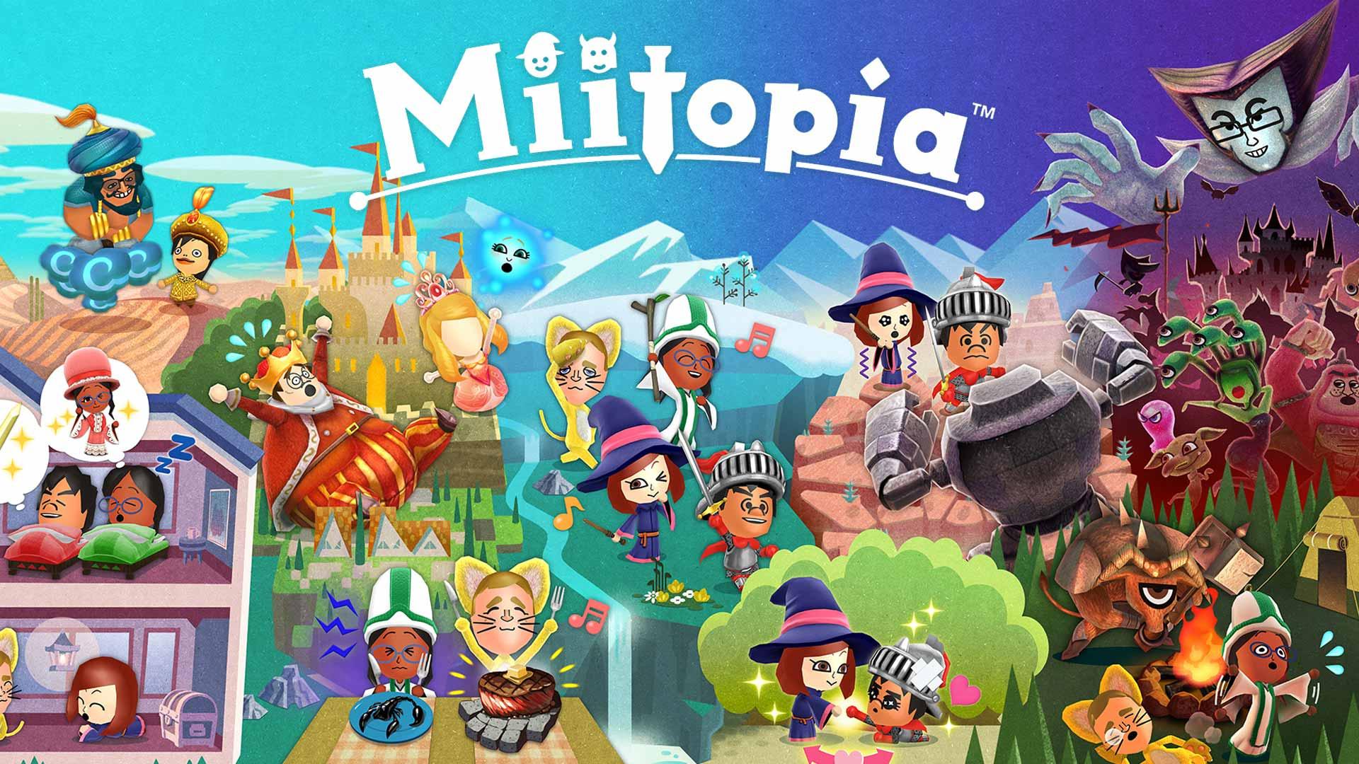 Обзор игры Miitopia: JRPG для всей семьи