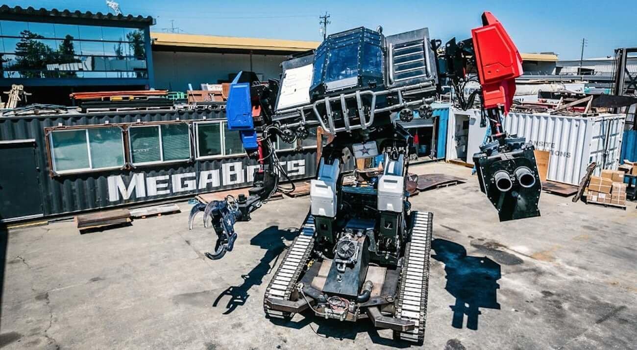 MegaBots представила полностью готового к поединку боевого робота