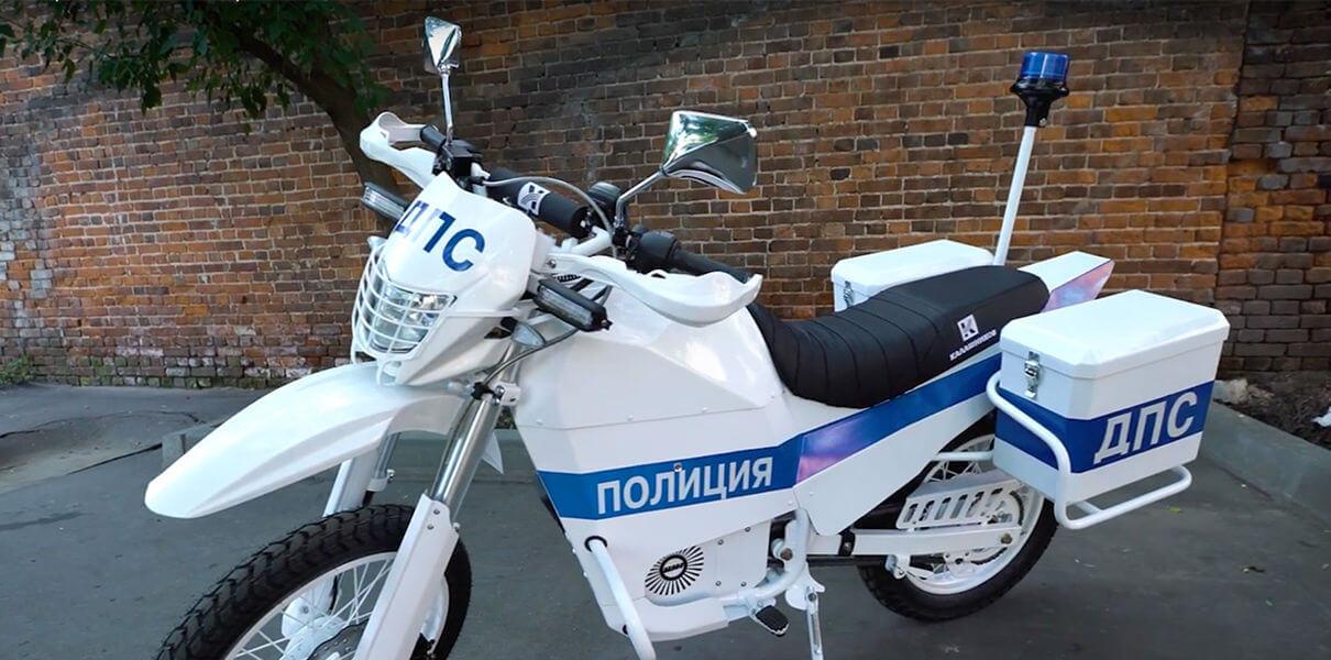 Концерн «Калашников» создал электробайк для полиции
