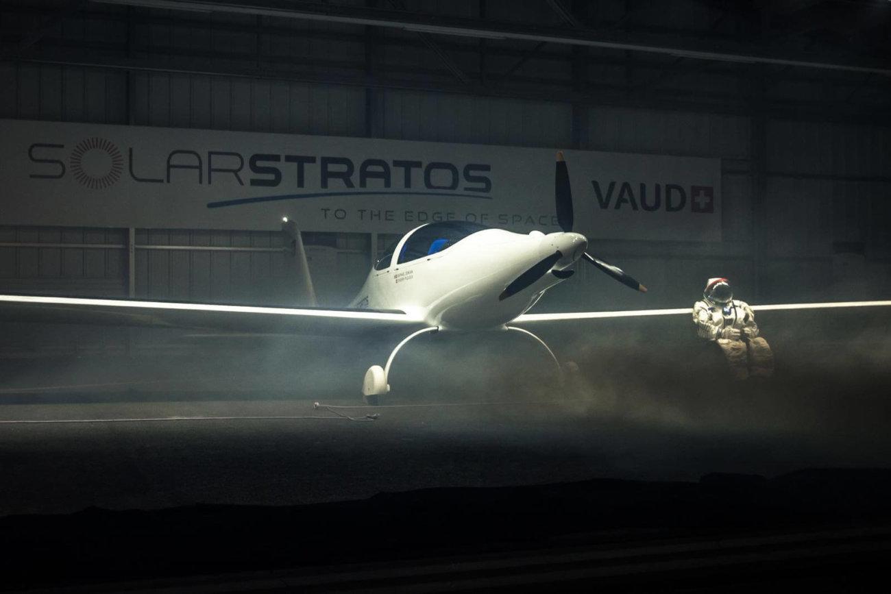 Полёт электросамолёта SolarStratos в стратосферу состоится в следующем году