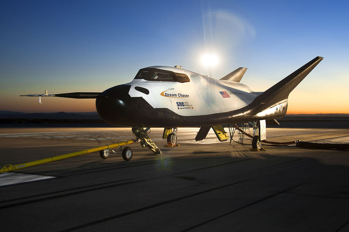 sss - В США прошли испытания нового космического корабля