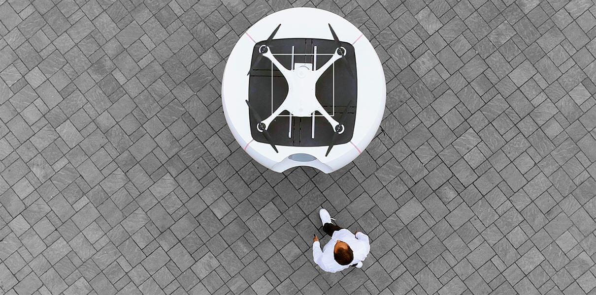 В Швейцарии начнут работать медицинские дроны-курьеры (+видео)