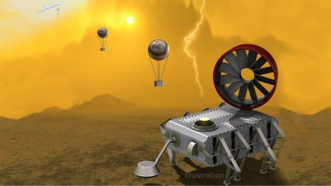 AREE: космический аппарат для исследования поверхности Венеры (2 фото + видео)