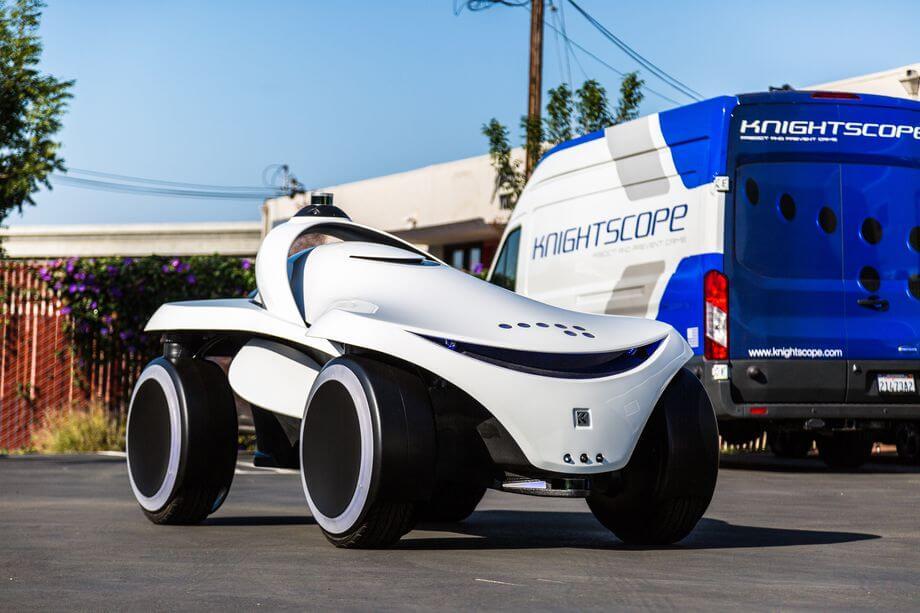 Компания Knightscope представила новых охранных ботов