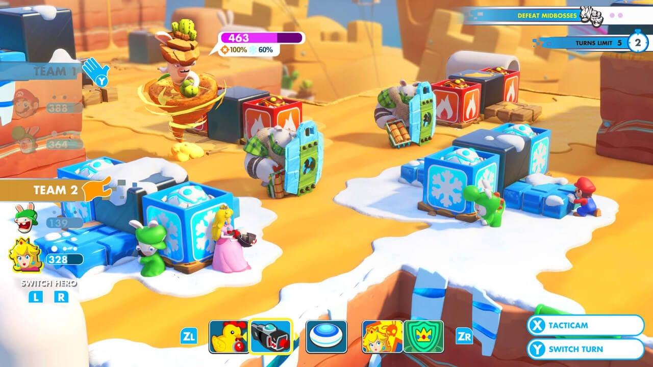 Обзор игры Mario + Rabbids: Kingdom Battle