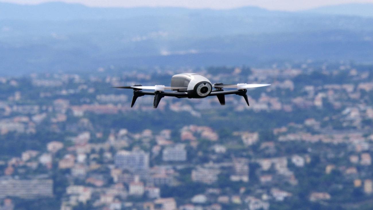 В Шанхае построили полигон для тестирования дронов