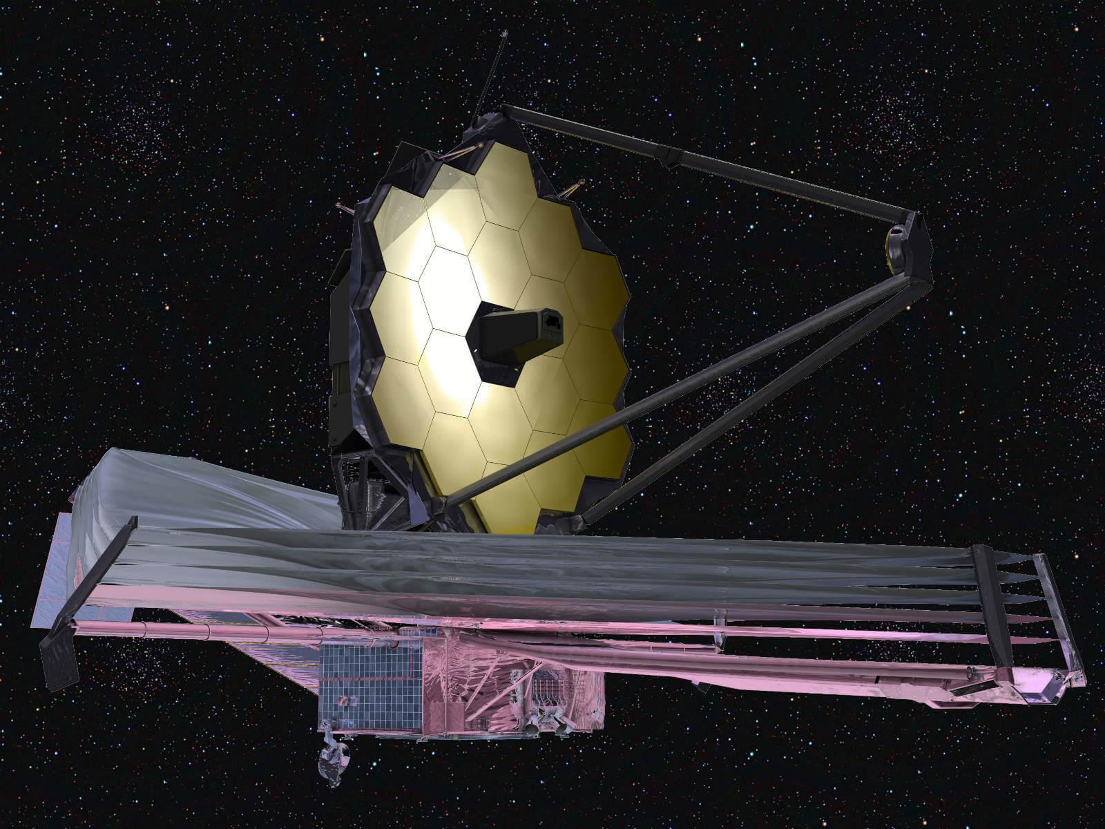Запуск телескопа James Webb отложили до 2019г