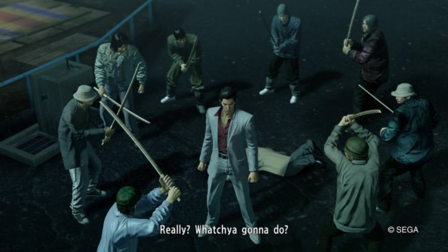 Обзор игры Yakuza Kiwami