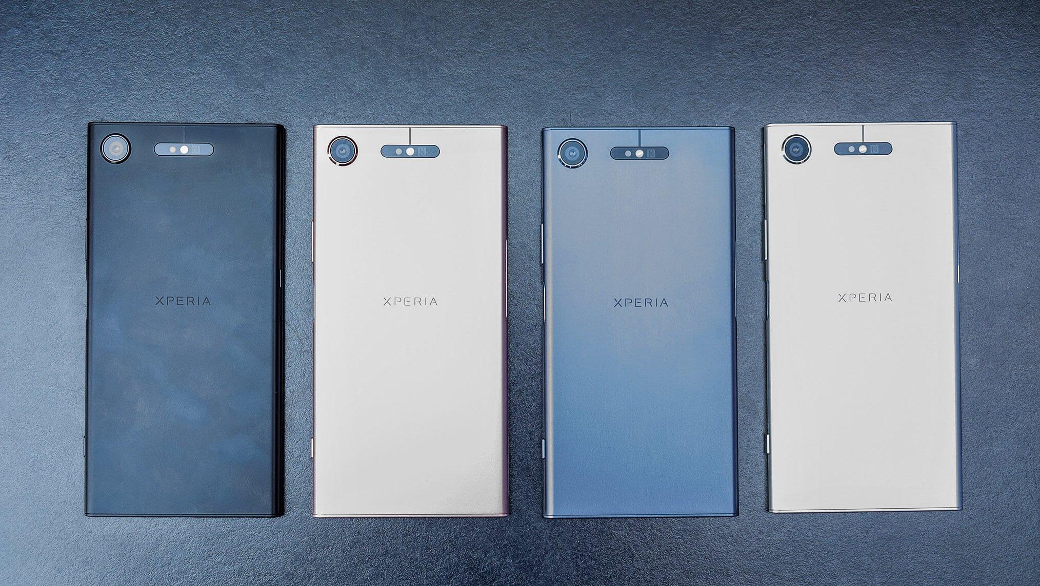 В РФ представили новые мобильные телефоны от Сони