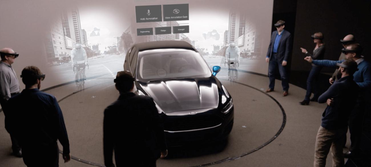 Автоконцерн Ford начал использовать HoloLens для проектировки автомобилей