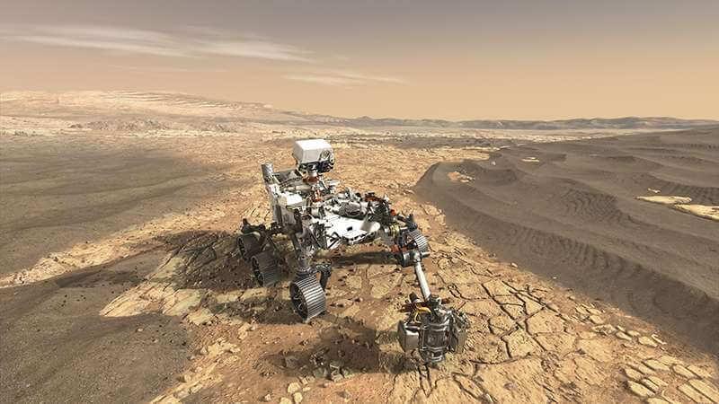 В поиске жизни на Марсе поможет… ванадий (3 фото)