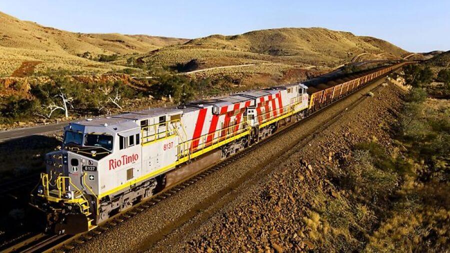 Rio Tinto вводит беспилотные железнодорожные транспортировки