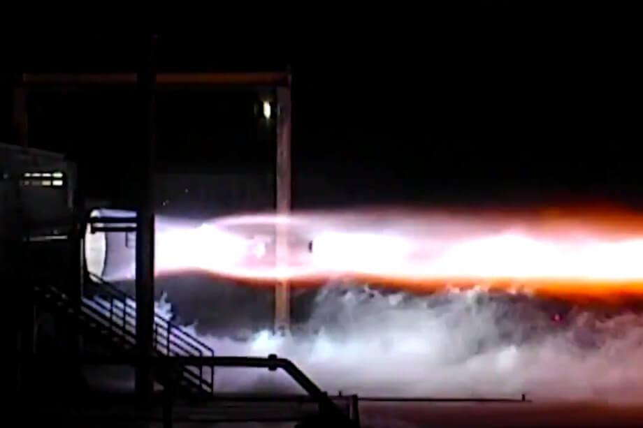 Blue Origin провела первые огневые тесты двигателя BE-4