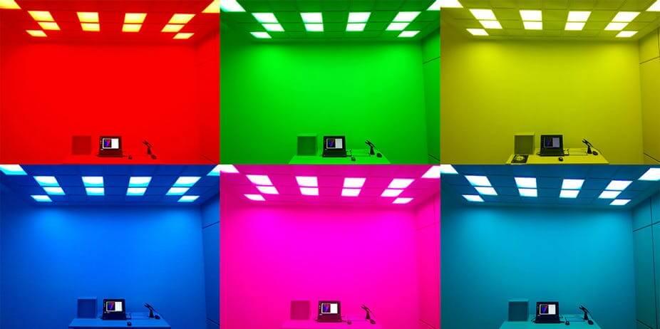 Действительно ли цвет может повлиять на тело и сознание? (2 фото)