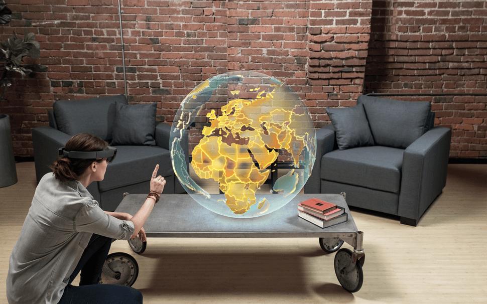 Смешанная реальность — будущее вычислительной техники? (2 фото + видео)