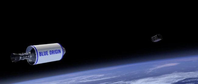 Клиенты Blue Origin отправятся в космос не раньше апреля 2019 года (+видео)