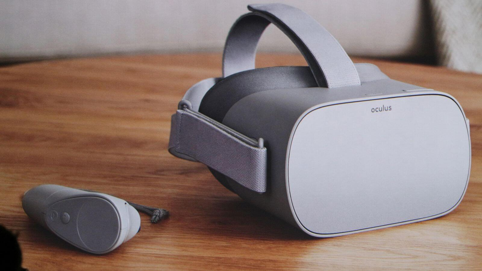 Facebook представила автономную VR-гарнитуру Oculus Go