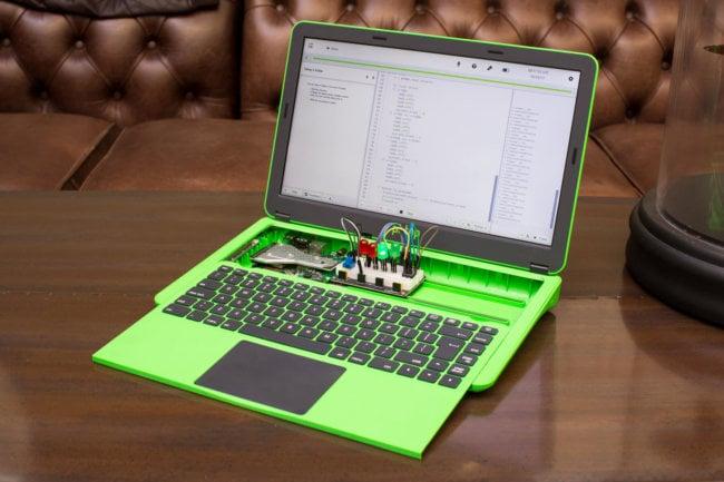 Raspberry выпустила новый модульный ноутбук Pi-Top