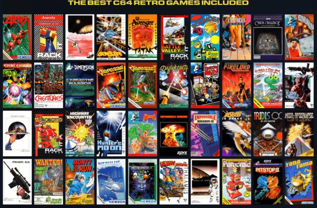 Миниатюрная версия Commodore 64 появится в продаже зимой 2018