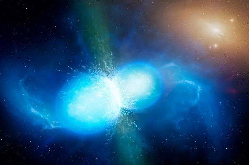 Всего одно слияние нейтронных звезд — и пять невероятных вопросов (3 фото)
