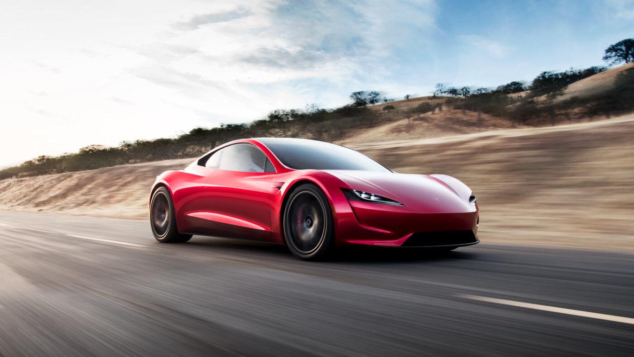 Продажи нового спорткара Tesla с откидным верхом начнутся в 2020 году