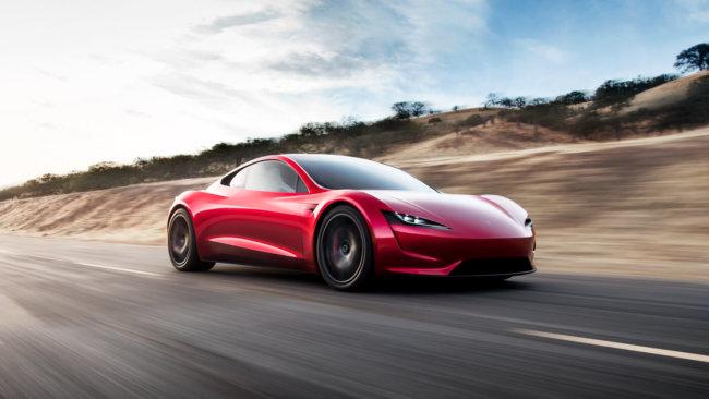Tesla представила спорткар Roadster