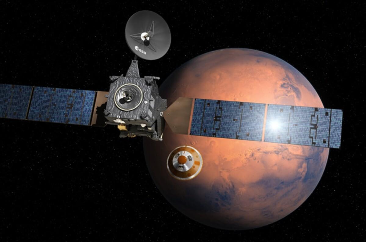В России прошли первые испытания марсианского посадочного модуля
