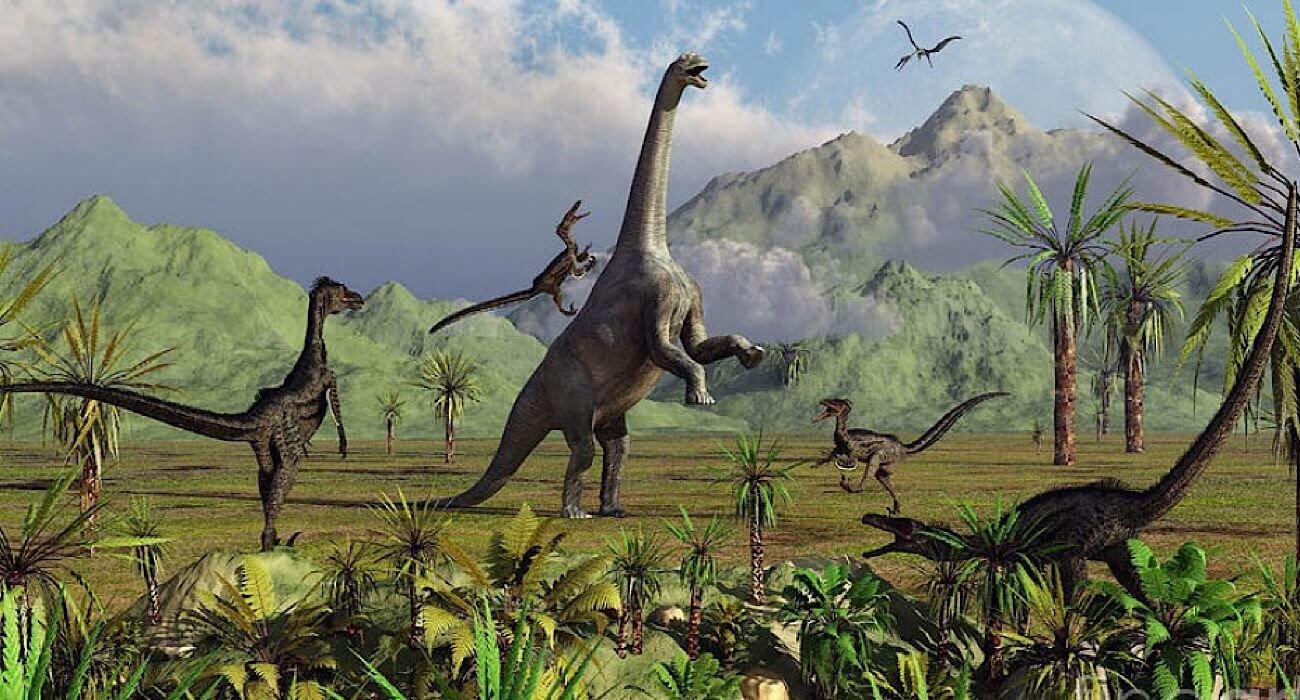 вымирание динозавров случайность