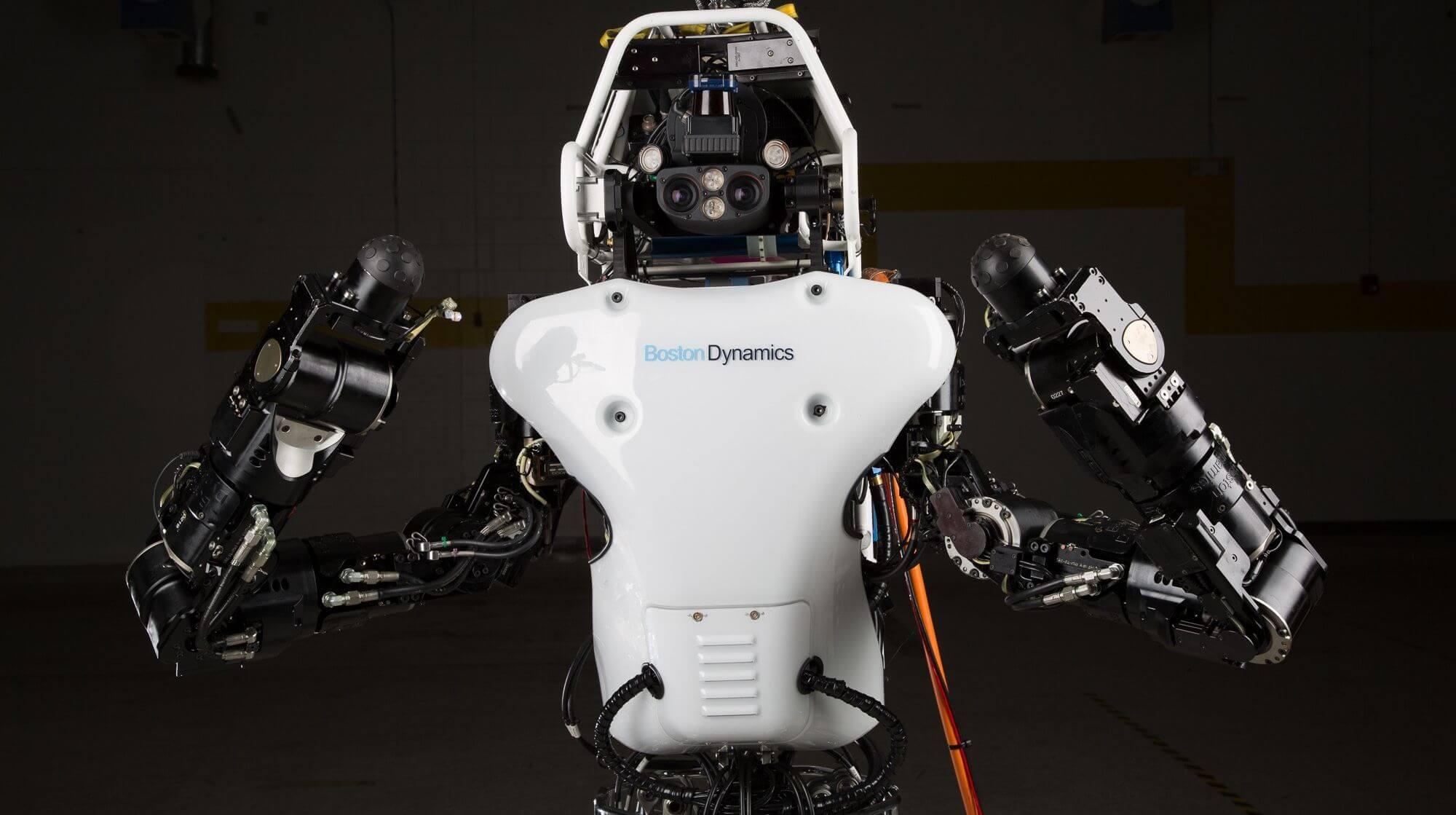 #видео дня | Boston Dynamics обучает робота Atlas основам паркура