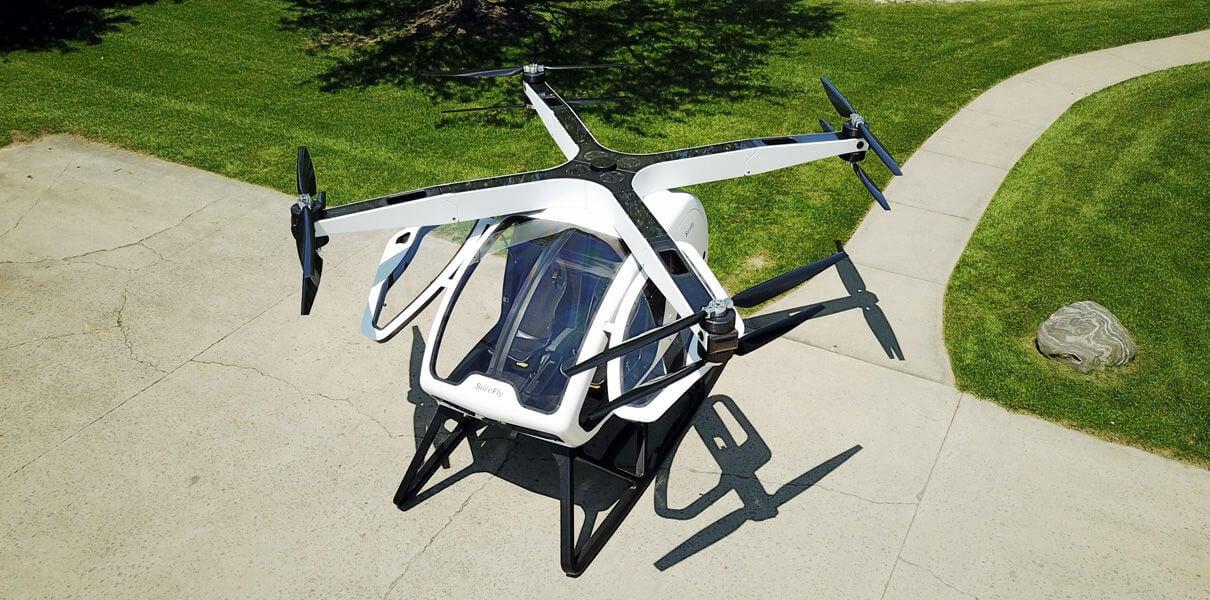 Пассажирский дрон SureFly совершит первый полёт в январе