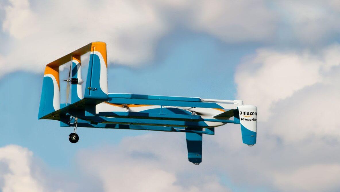 Дроны Amazon будут самоуничтожаться при аварии