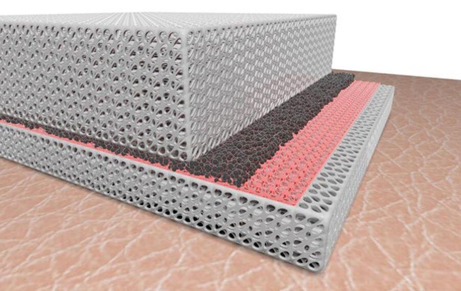 Создана ткань, способная одновременно согревать и охлаждать