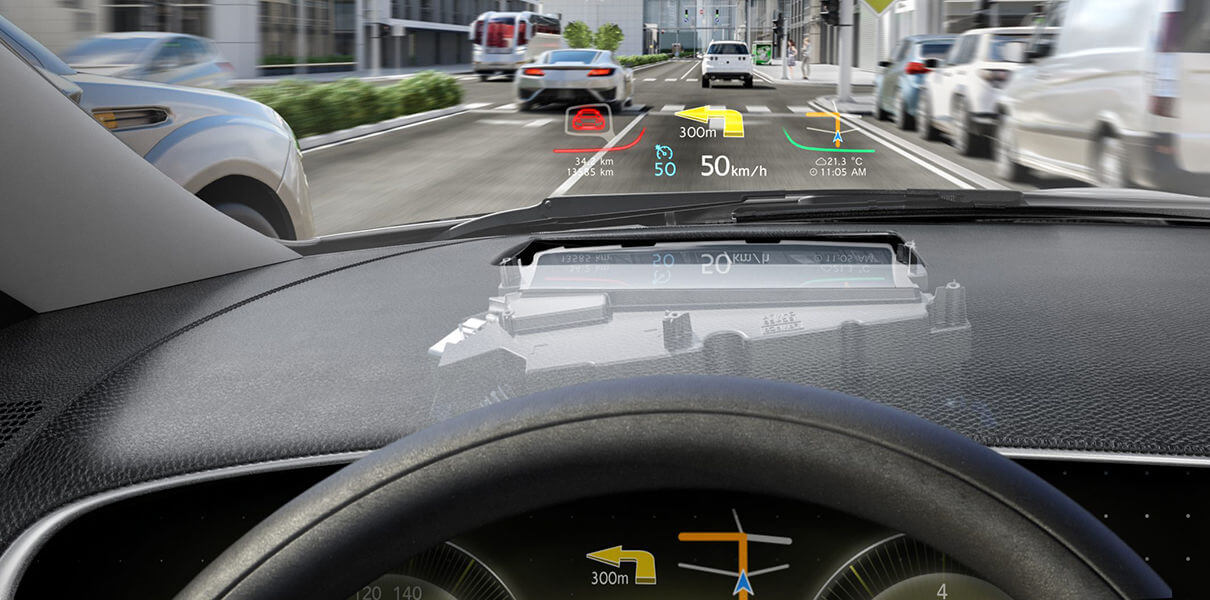 Автомобили марки Lincoln оснастят HUD-дисплеями вместо лобового стекла