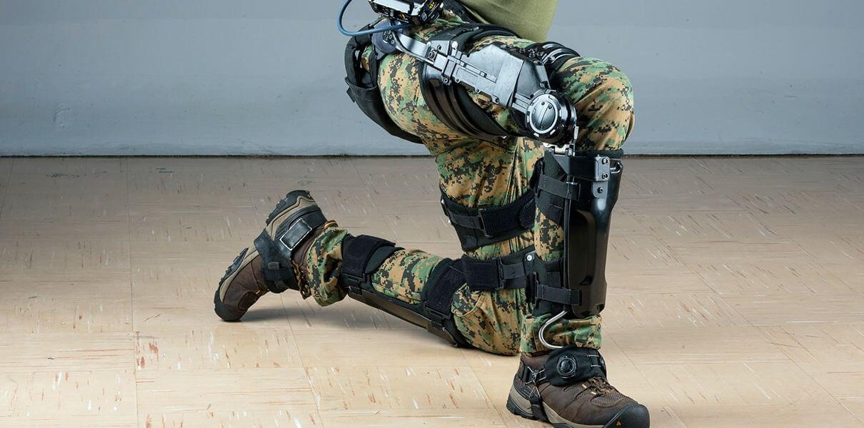 В Loсkheed Martin разработали военный экзоскелет (2 фото)