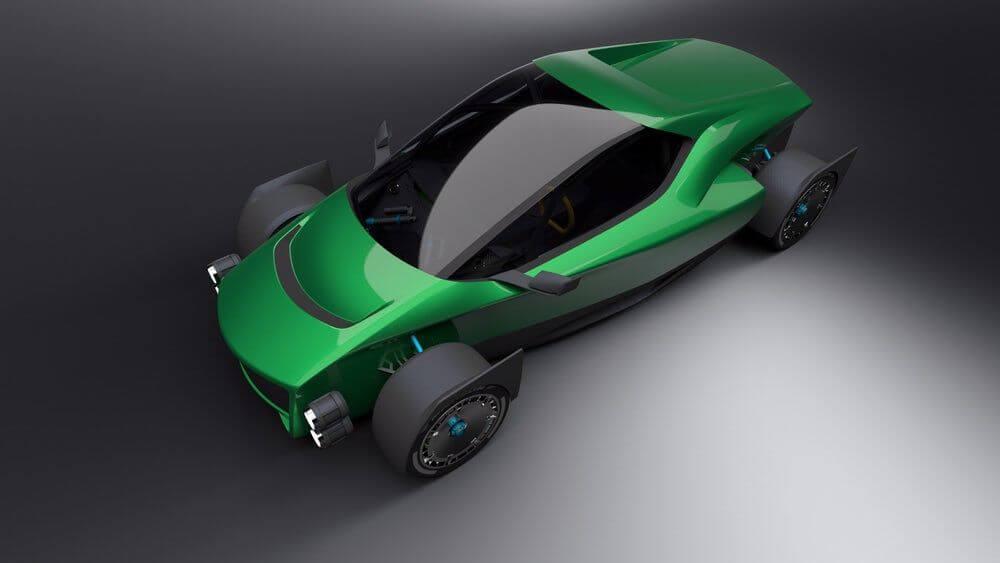 Тайваньцы представили конкурента Tesla Roadster 2