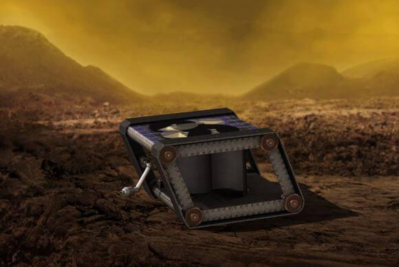Электроника, которая сможет работать на Венере: как ее создать? (3 фото)
