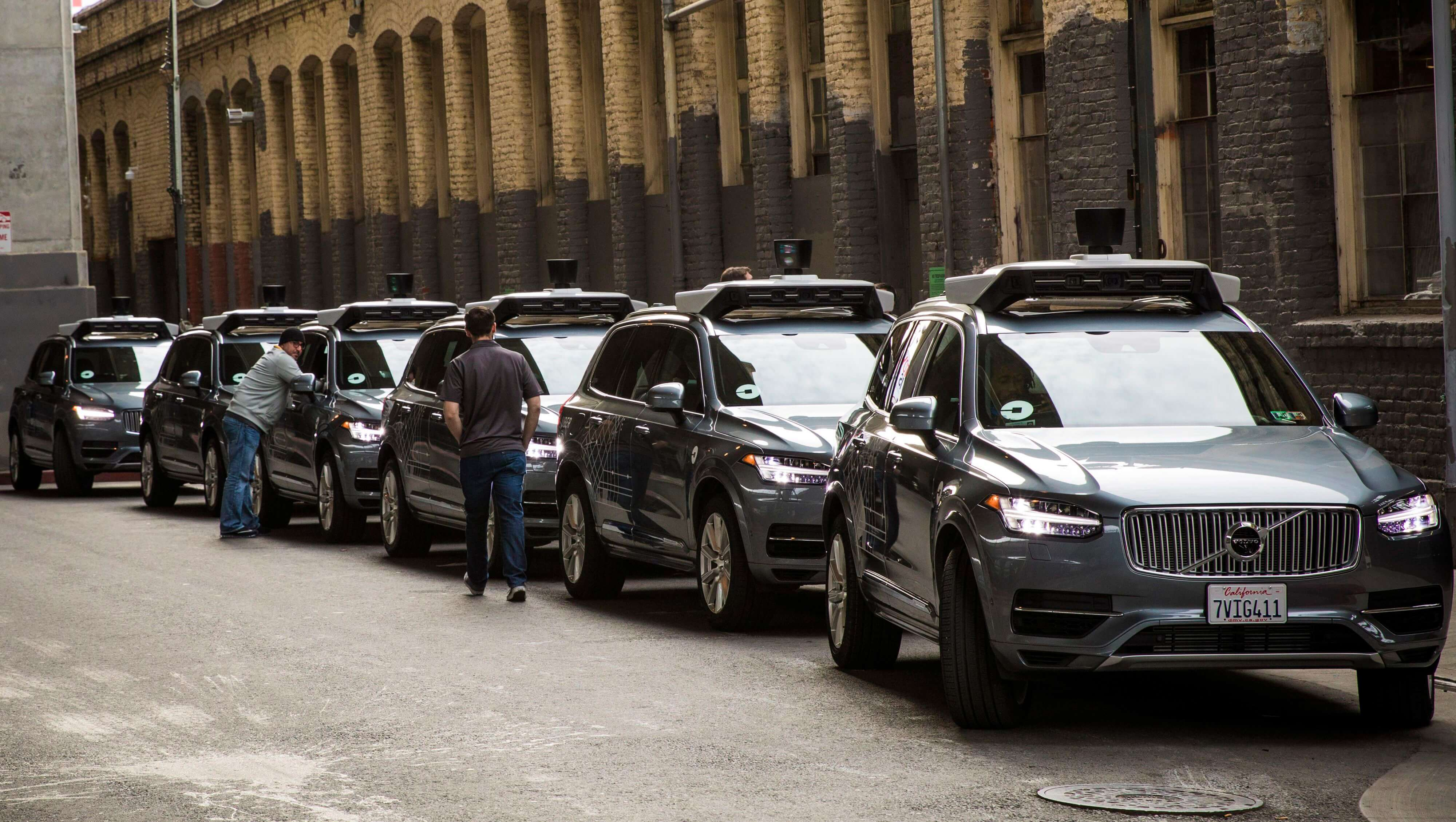 Uber закупает 24 000 Volvo XC90, чтобы превратить их в беспилотные такси