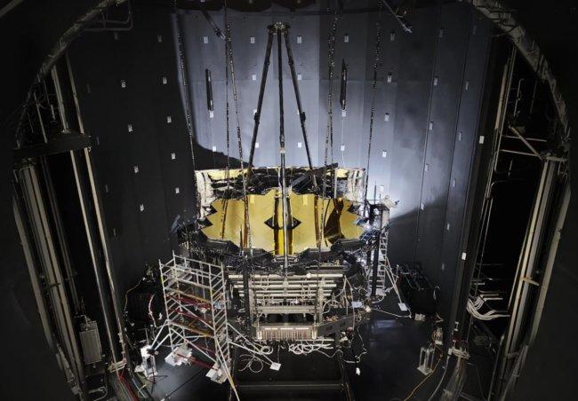 Телескоп «Джеймс Уэбб» прошел криогенные испытания при -233 градусах Цельсия