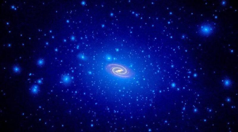 Темная материя — «инопланетяне» для астрофизиков? (7 фото)