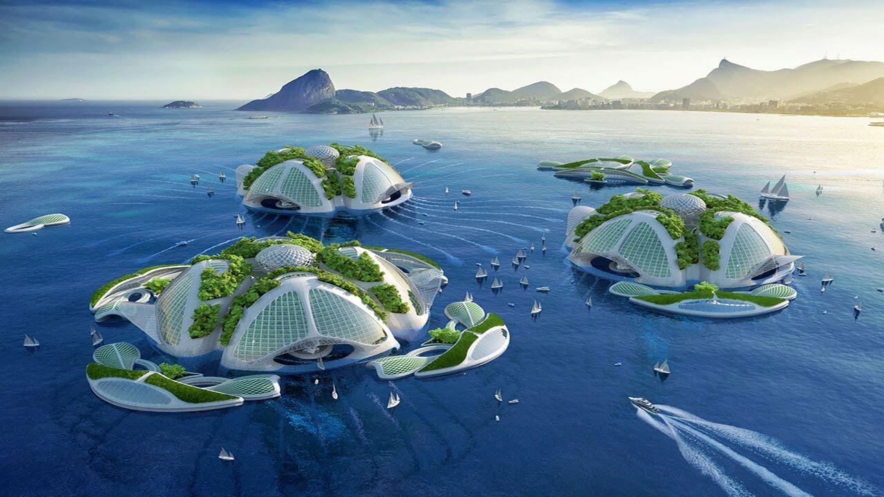 Шесть домов будущего, которые защитят вас от изменений климата