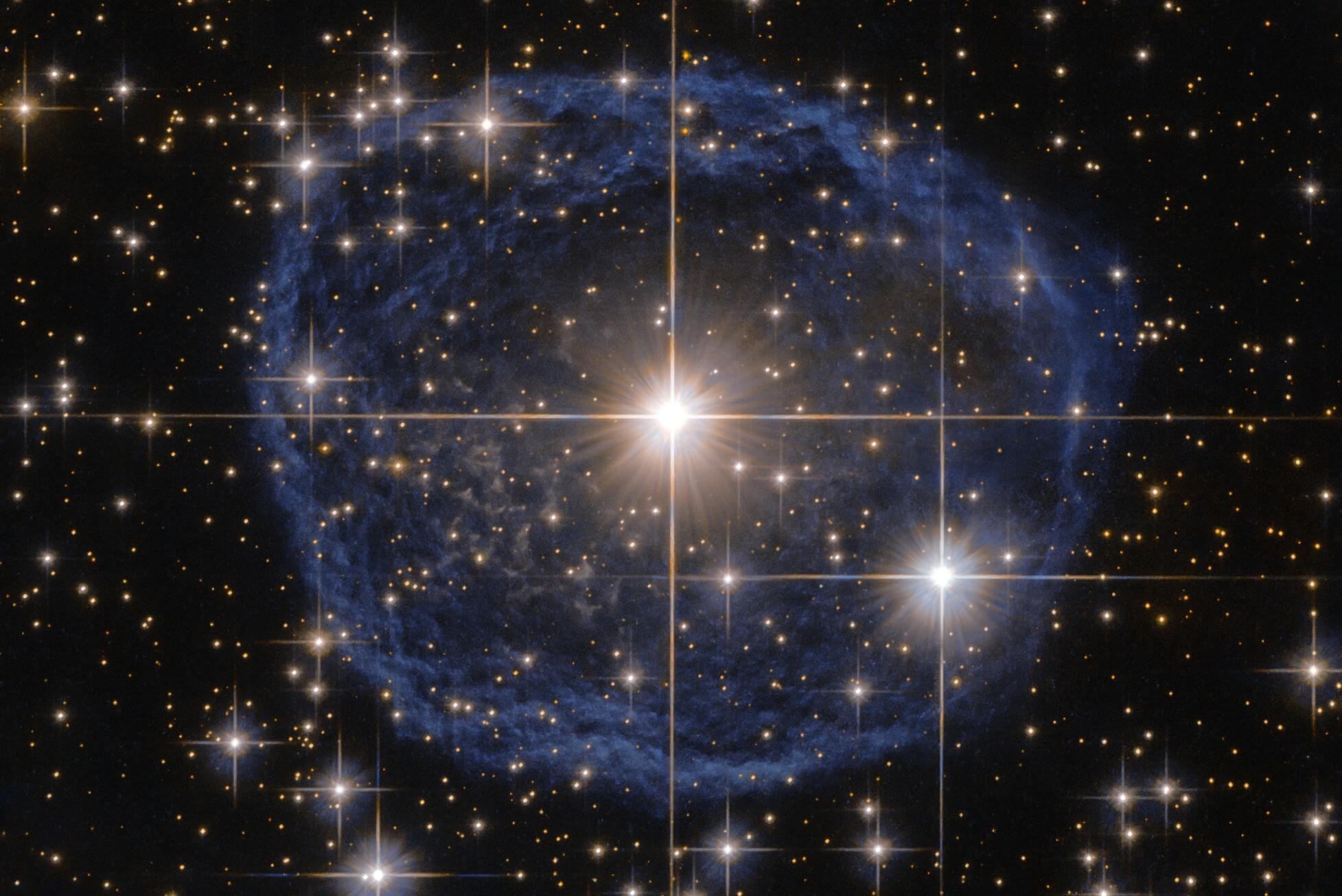 Солнечная система могла образоваться внутри гигантского космического пузыря