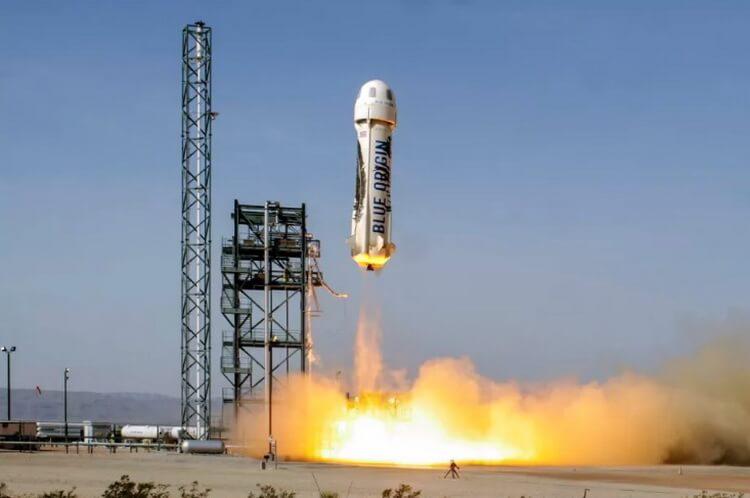 Blue Origin провела запуск новой модификации ракеты New Shepard