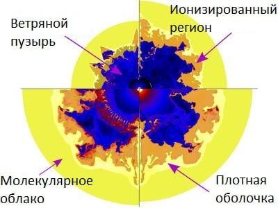 Пузырь вокруг звезды: ученые описали рождение Солнечной системы