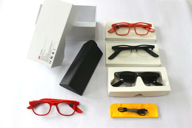 Let Glass — «умные» очки с поддержкой ассистента Alexa