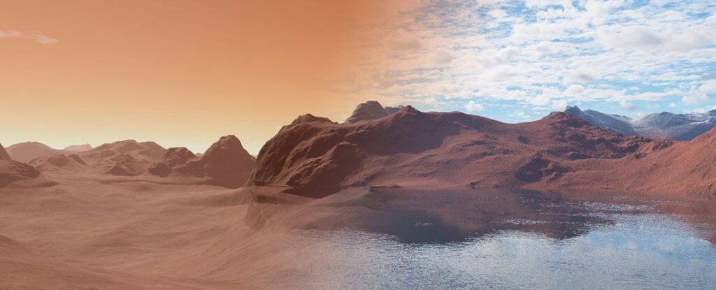 Куда делаcь вода с Марса? У ученых появилось новое предположение