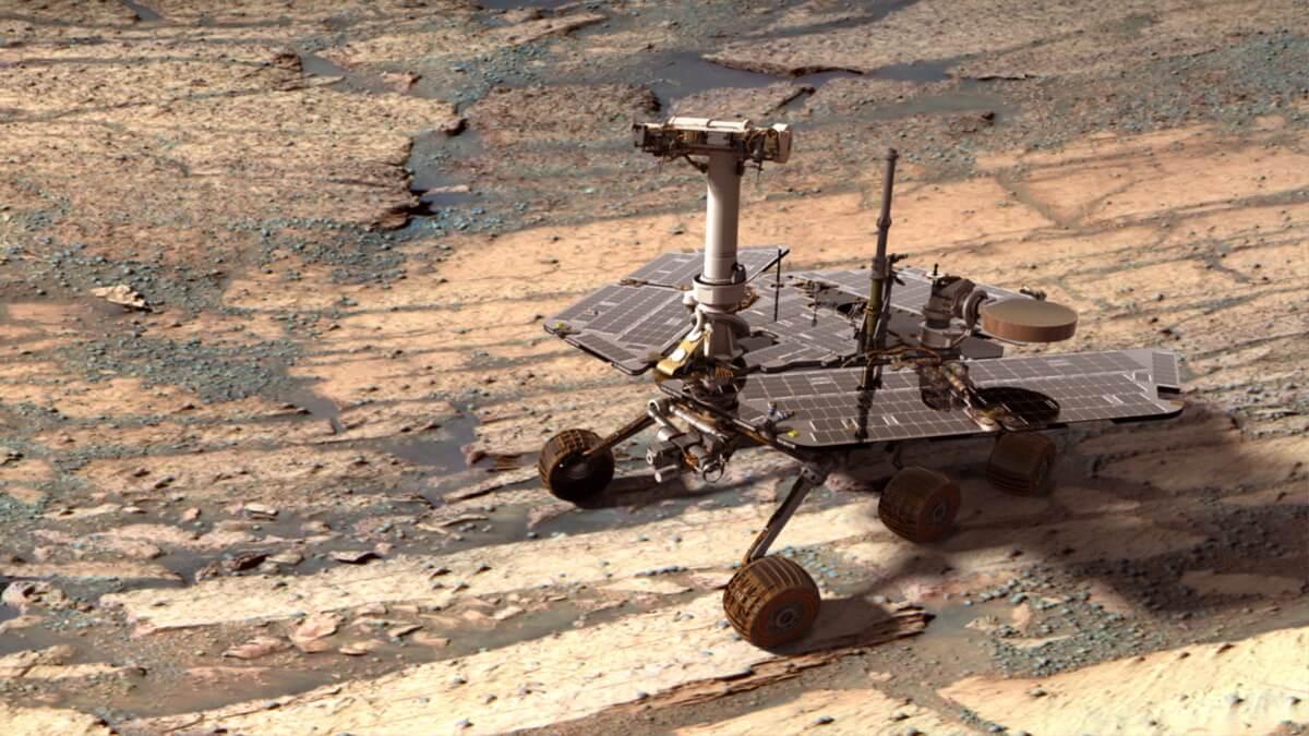 Марсоход «Оппортьюнити» пережил уже восьмую зиму на Красной планете