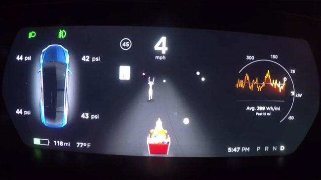 Владельцев Tesla ждут новые «пасхалки»