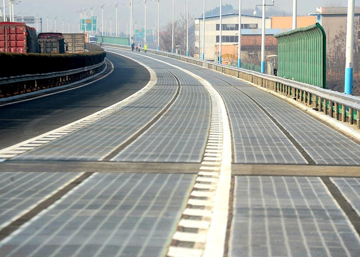 Солнечный асфальт: путь в будущее или дорога в никуда? (2 фото)