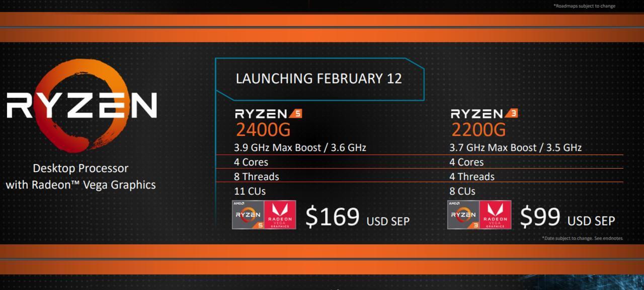 #CES 2018 | Компания AMD представила свои новые процессоры